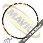 Mavic Crossmax ST 2012 Stickers kit - bkstickers.com