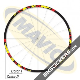 Mavic Crossmax ST 2012 Stickers kit - bkstickers.com