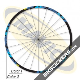 Mavic Crossmax ST 2010 Decals kit - bkstickers.com