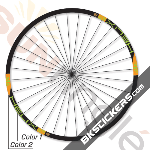 SUN Ringlé Helix Decals kit - bkstickers.com