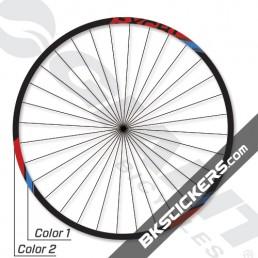 Giant P-XCR1 Alloy XC Decals Kit - Bkstickers.com Custom Stickers