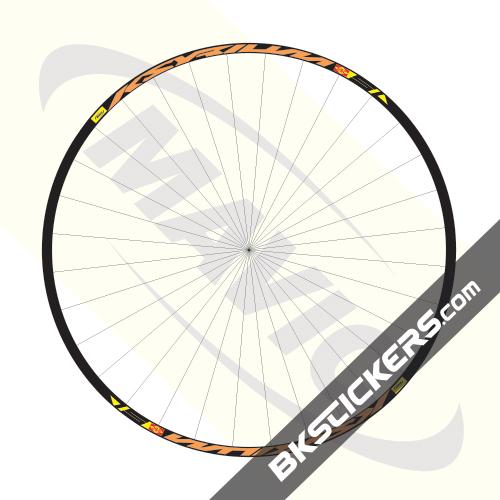 Mavic Ksyrium SL Decals kit - Bkstickers.com