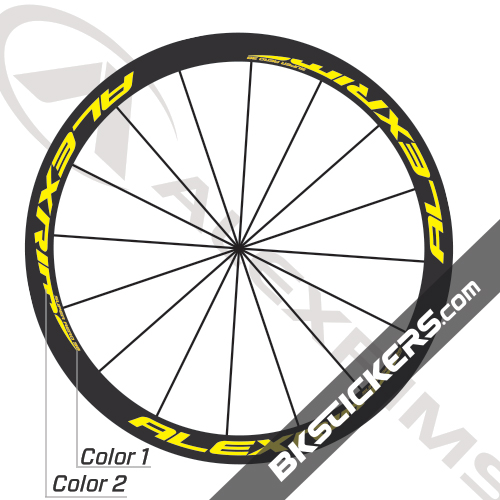 Alexrims Super Aero 38 Decals Kit - BkStickers.com