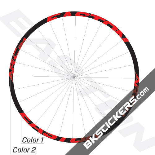 Easton ARC 24 Decals Kits - BkStickers.com