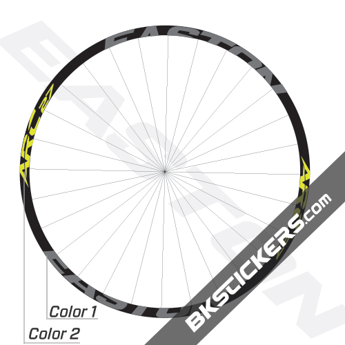 Easton ARC 27 Decals Kits - Bkstickers.com