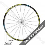 Fulcrum Racing 5 DB Decals kit - BkStickers.com