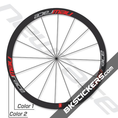 New Race 45C Decals Kits - bkstickers.com