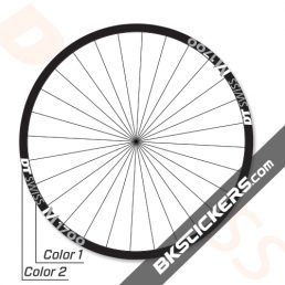 DT Swiss M1700 SPLINE 2019 Decals Kit - bkstcikers.com