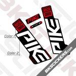 Rockshox Pike 2020 stickers kit Black Forks 01