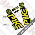 Rockshox Pike 2020 stickers kit Black Forks 03
