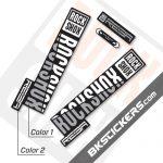 Rockshox REBA 2020 Stickers Kit Black Forks - Bkstickers.com