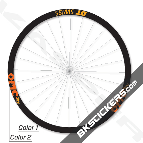DT Swiss XMC 1200 Spline 30 29er Decals Kit - bkstickers.com