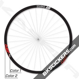 DT Swiss XRC 1200 Spline 22.5 29er Decals Kit - BkStickers.com