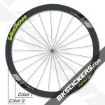 Vision TriMax T40 Disc Decals kit