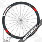 Vision TriMax T40 Disc Decals kit - bkstickers.com