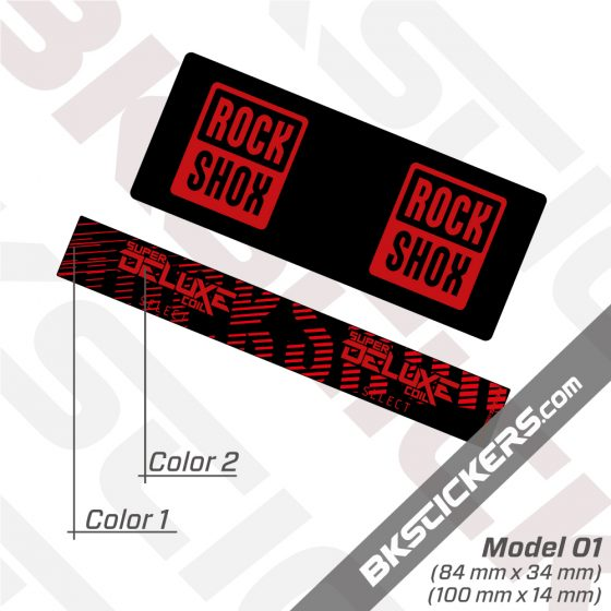 Rockshox-Super-Deluxe-Coil-Select-2021-Rear-Shox-Decals-kit-red