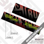 Rockshox Super Deluxe Select Plus 2021 Rear ShoxDecals kit 1