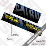 Rockshox Super Deluxe Select Plus 2021 Rear ShoxDecals kit 3