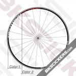 Campagnolo Neutron Ultra Black Rims Decals Kit 01