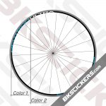 Campagnolo Neutron Ultra Black Rims Decals Kit 02