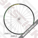 Campagnolo Neutron Ultra Black Rims Decals Kit 03