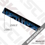 Rockshox Deluxe Select Plus 2020 Inverted Rear Shock Decals kit 03