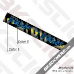 Rockshox Deluxe Ultimate 2020 Rear Shock Decals kit 01