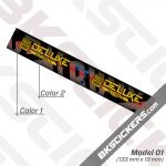 Rockshox Deluxe Ultimate 2020 Rear Shock Decals kit 02