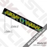 Rockshox Deluxe Ultimate 2020 Rear Shock Decals kit 03