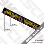 Rockshox Deluxe Ultimate 2021 Remote Rear Shock Decals kit 03
