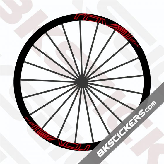 Roval CLX 32 Rapide Decals kit 01