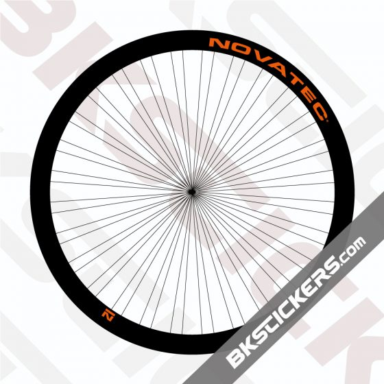Novatec Stealth R3 Disc 38mm Decals Kit