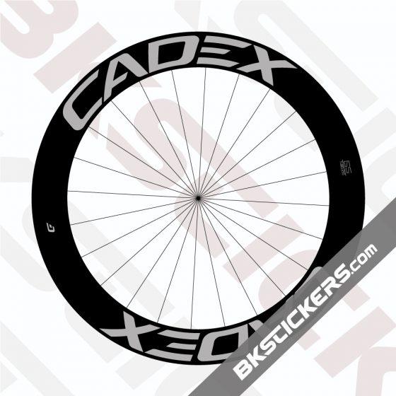 Cadex Road Disc Wheels Decals Kit - bkstickers.com