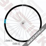 Hunt Mason X 4 Season Disc Decals Kit - Bkstickers.com Rim Stickers